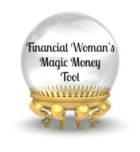 Financial Woman Savings Calculator
